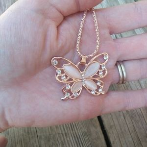 Jewelry - Butterfly statement necklace - NWT